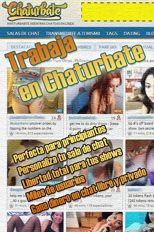 trabajar con webcam en chaturbate